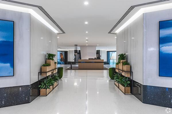 Business and Real Estate Office Lobby