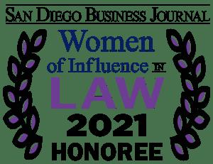 Women in Law Honoree Logo